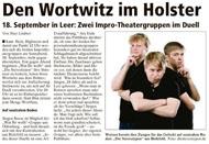 Ostfriesenzeitung September 2010