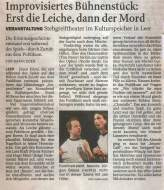 Ostfriesenzeitung 10.09.2007