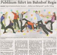 Nordwest-Zeitung Januar 2012 Varel I