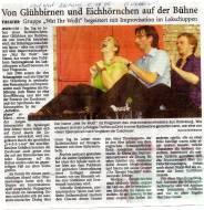 Nordwest-Zeitung 05.10.2009