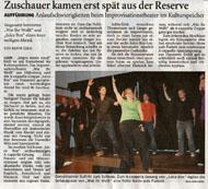 Ostfriesenzeitung März 2009